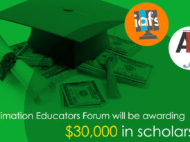 Only Two More Days to Apply for our Animation Educators Forum Scholarships
