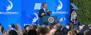 President #Obama Visits DreamWorks Animation