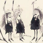 Ronald Searle in America: Exhibition at the #Cartoon Art Museum in San Francisco